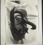 Mask from a funeral ceremony, Maske v. Totenfest