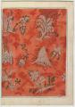 Illustration of Silk or Satin Damask
