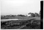 East Pakistan (from 1971 Bangladesh). Amnura 1968. Missionary bungalow and office. For many yea, Øst Pakistan (fra 1971 Bangladesh). Amnura 1968. Missionærbolig og kontor. Her boede den norske missionær og senere biskop i BNELC, pastor Hans Øverby med familie i mange år