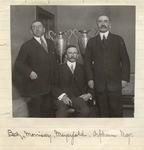Orpheum managers Beck, Morrisey, and Meyerfeld