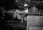Man sitting, Olvera Street