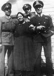 World War II era family portrait