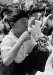 Børn lærer om tandpleje (School-dropouts). 1992, Children are taught dentistry (School-dropouts). 1992