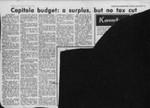 Capitola budget: a surplus, but no tax cut
