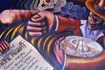 Part of Mural of Manifest Destiny
