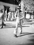 Man with gaucho-style hat, Olvera Street