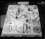 Mediterrania restaurant. Tableware