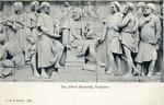 Postcard, The Albert Memorial, Sculptors