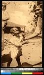 Upset boy and his father, Bangladesh, ca.1920-1940