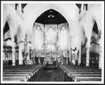 Pews and altar of Saint Paul's Episcopal Church