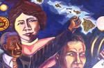 Interior view of Youth Empowerment Program (YEP) mural.