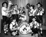 Professional men play 'sauerkraut' music