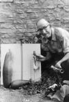 Harry Quillen gardening