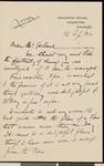 Arthur Rackham, letter, 1922-09-26, to Hamlin Garland
