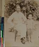 Andriamihàmina and his son, Fianarantsoa, Madagascar, ca.1900