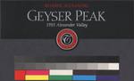 Geyser Peak Reserve Alexandre 1993 Alexander Valley, Reserve Alexandre 1993