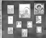 Display of student art works