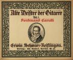Alte meister der gitarre, bd. 1