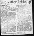Salz Leathers finishes up