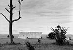 Kirken i Lakayanga, Kagera-regionen, Tanzania, 1976. Arkitekt: DMS missionær Karl Emil Lundager. (Anvendt i: Dansk Missionsblad nr 9/1980), Lakayanga Church, the Kagera Region, Tanzania, 1976. The Architect is the DMS Missionary Karl E