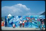 Pentathlon mural