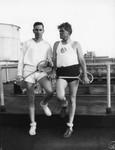 L. A. Athletic Club tennis players