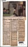 Street battle against heroin