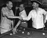 Uplifters play pool