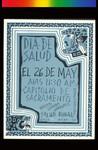 Día de Salud, Announcement Poster for