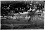 East Pakistan (from 1971 Bangladesh), 1968. The Mission Station at Chapai Nawabganj, built 1967, Øst Pakistan (fra 1971 Bangladesh), 1968. Missionsstationen i Chapai Nawabganj, bygget 1967-68. Niels Anton Dam var arkitekt
