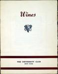Wines - The University Club
