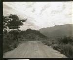 Korean landscape from mountain road