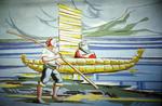 Uros boat legend