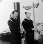 Sailors downtown