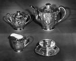 Solid gold tea set