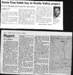 Santa Cruz holds key to Scotts Valley project