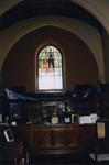 Gutenberg Window in Denison Library, Scripps College