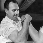 Arnie Klein, world's arm wrestling champion