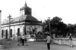 Zions church in Tranquebar. Zions church is the actual colonial church. The church was inaugura, Zionskirken i Trankebar. Zionskirken er den egentlige kolonikirke. Den blev indviet 1701 og var bestemt for danskerne