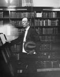 Harry Quillen in library