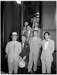 Jap diplomats, 1951