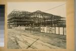 Completion steel frame. Auditorium. (15,809,616 lbs. steel in building.) 1753