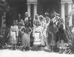 Ebell Club members in costume