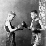Jack and Lloyd Dod Boxing