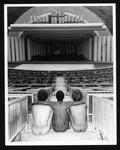Nude models at the Hollywood Bowl