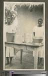 Female domestic staff, Blantyre School, Malawi, ca.1926