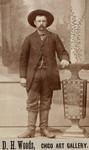 Full Length Portrait of Unidentified Man