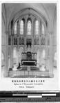 Altar area of a church, Tokyo, Japan, ca. 1920-1940