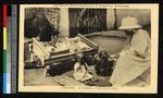 Missionary sister feeding orphans, Cameroon, ca.1920-1940