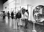 Exhibit introduces space man to public